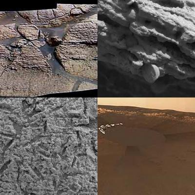 Agua en Marte.....