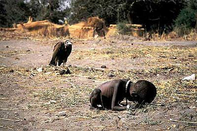 La hambruna azota