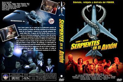 Serpientes en el avion