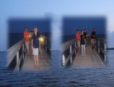 Noche de pesca, Mina y Yo - Tampa 2011-