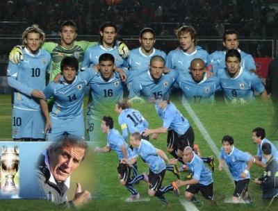 """Los mejores del Continente, los mejores de"""" America"""" URUGUAY!!"""